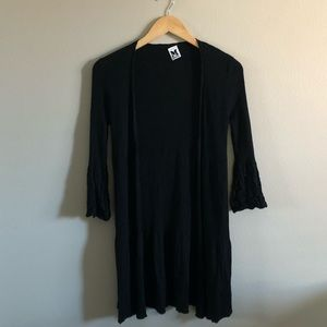 M MISSONI longline knit sweater 3/4 sleeve